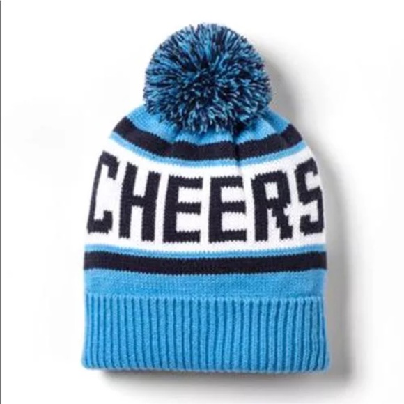 0d29a9cc6e5 Target Accessories   New Unisex One Size Cheers Blue Knit Hat Beanie ...